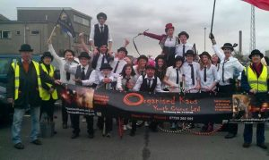 Organised Kaos Team at Port Talbot parade