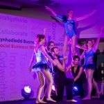 Social Business Wales Awards 2016 troupe balance